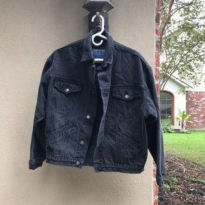 Calvin Klein Black Denim Jacket